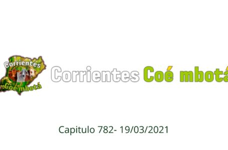 Corrientes Coé Mbotá N°782