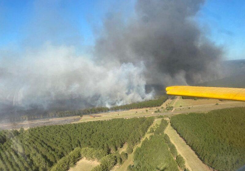 El Gobierno nacional homologó la emergencia forestal para once departamentos correntinos por los incendios rurales