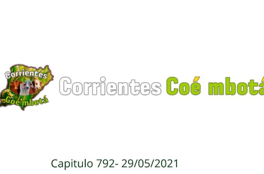 Corrientes Coé Mbotá N° 792 – 29/05/21