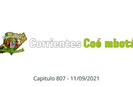 Corrientes Coé Mbotá N° 807 – 11/09/21