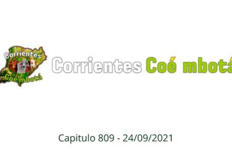 Corrientes Coé Mbotá N° 809 – 27/09/21